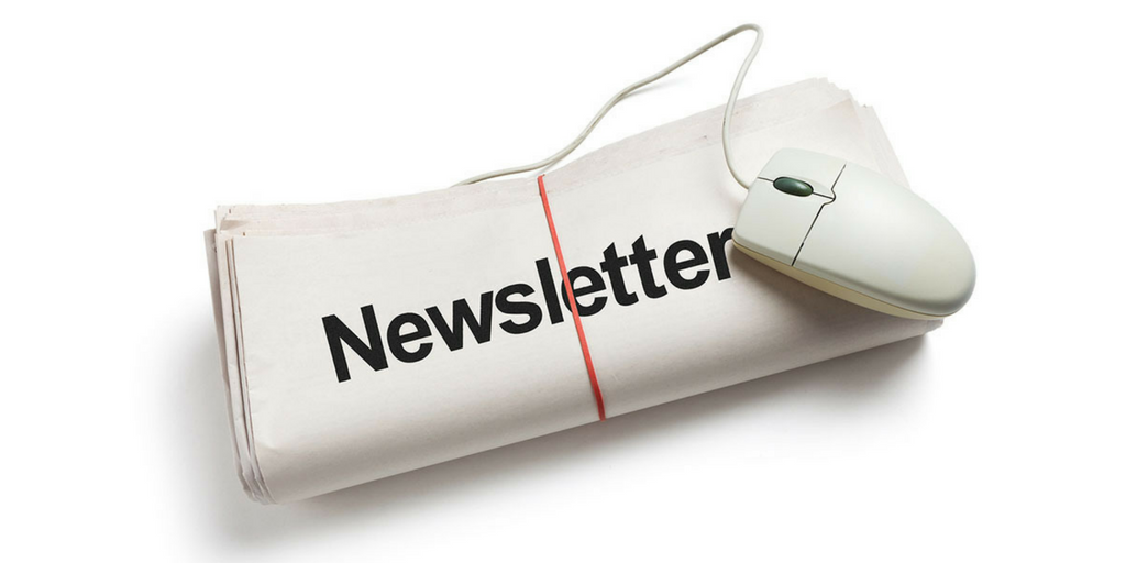 Our last newsletter